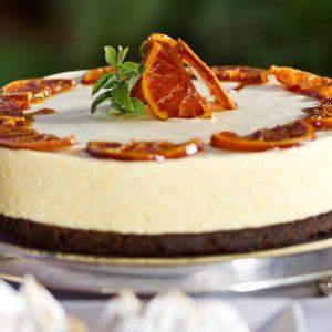 cheesecake-arance-rosse-cioccolato